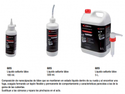 SELLANTES GES PARA NEUMATICOS TUBELESS